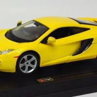 Promo Bburago 1/24  McLaren MP4-12C kuning