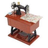 Jual Kotak Musik Mesin Jahit/ Music Box Sewing Mechine Murah