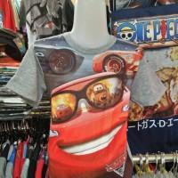 Kaos/Baju/Tshirt Fullprint 3D Anak Film The Cars II
