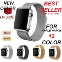 Jual (NEW Colour) Strap apple watch milanese magnet loop 38mm 42mm GROSIR Murah