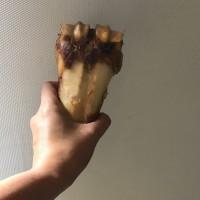 DOG FOOD, SNACK ANJING, tulang gigitan doggy (sedang)