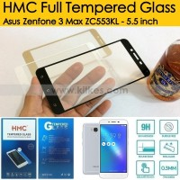 HMC Full Tempered Glass Asus Zenfone 3 Max ZC553KL - 5.5 inch