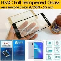 HMC Full Tempered Glass Asus Zenfone 3 Max ZC553KL - 5.5 inch