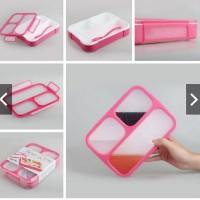 Jual Kotak Makan yooyee 3 sekat lunch box Murah