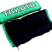diskon TAKATA Racing Shoulder Pads Seat Belt Cover Green Suede ORI