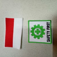 logo k3 dan bendera / logo safety / emblem safety