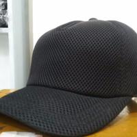 Jual Topi Security/ Satpam Jala Polos- Topi Jala Murah
