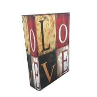 Jual Brankas Buku Antik Jadul Kuno - LARGE SIZE - Love Murah