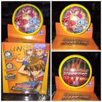 Jual YOYO Auldey Blazing Teens Legendary Warriors Yellow ORI Murah