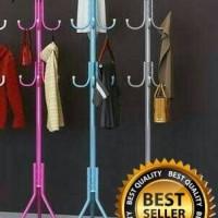 Jual Standing Hanger Multifunction/Gantungan Portable Tas Topi Murah