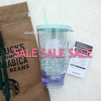 Jual Sale!! Starbucks Korea Summer Mint Cube Splash Cold Cup Tumbler Murah
