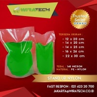 Plastik Stand Up Nylon 14x20 cm