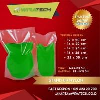 Plastik Stand Up Nylon 14x25 cm