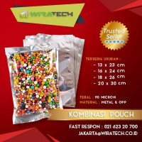 Plastik Kombinasi Pouch 16x24 cm