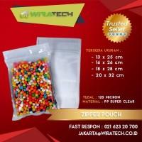 Plastik Zipper Pouch 16x26 cm (500ml)