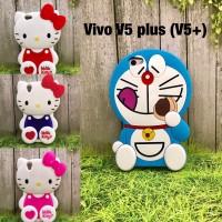 Jual Softcase MURAH rubber boneka Vivo V5 plus hello kitty love doraemon Murah