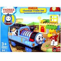 DUPLO THOMAS AND FRIENDS TRAIN SET BUILDING BLOCKS 8901 ISI 24 PC