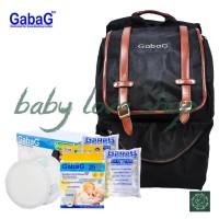 Jual Tas Cooler Bag Gabag Backpack Calmo Black 3 in 1 BT31 Murah