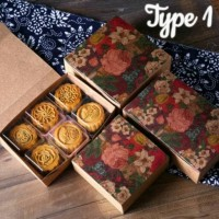 Jual FREE GOJEK - EXCLUSIVE BOX Moon Cake Home Made Kue Bulan Pia isi 4 pcs Murah
