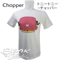 Kaos Anime Tony Tony Chopper - Oblong T-shirt Kartun Unisex hadiah