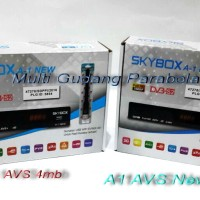 Receiver Skybox A1 New AVS V2 Flash 8MB