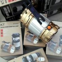 Jual Lentera Tarik Solar Cell Lampu Senter LED Camping USB Emergency 9599 Murah