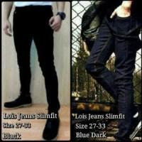 Jual Celana Jeans Lo*s Hitam / Celana Jeans Slimfit /celana Jeans Murah