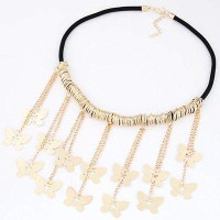 Jual Kalung Korea Butterfly Tassel Decorated Simple Design Forever21 T6BB58 Murah