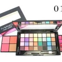 Jual Terbaru EYESHADOW MAC MK 12 = 32 eyeshadow, 4 blush on, 16 lipstik Murah