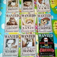One Piece - Poster Bounty SHP ATS set (9pcs)