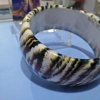 Jual Gelang Macan Besar Vintage Leopard Print Bangle Bracele Limited Murah