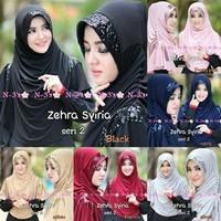 Jual Jilbab Syria Zehra / Bergo Zehra Syria / Zehra 2 Murah