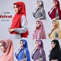 Jual Terbaru Hijab/Jilbab Velvet Sequin Syria Murah