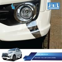 New Toyota Rush Fog Lamp Cover Chrome/ Aksesoris Eksterior Rush