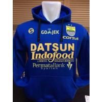 Sweater Hoodie Persib S-131 Jumper Biru Juara Indonesia Sepanjang Masa