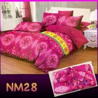 Bedcover Set Flat Murah