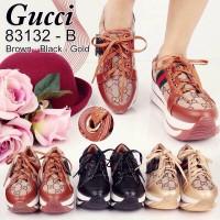 Jual Sepatu  sneakers wedges gucci  83132B Murah