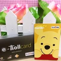 Jual eMoney Mandiri e-Toll Card Custom Design Print Cetak - Winnie the Pooh Murah