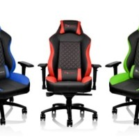 Thermaltake Gaming Chair GT Comfort 500 (Green/Red) - Limited Offer