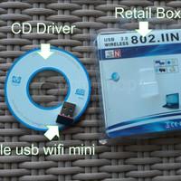 Jual USB Wireless dongle wifi receiver 802.11N Murah