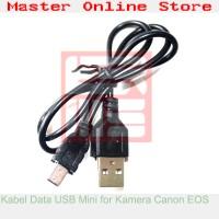 Kabel Data Mini USB 5 Pin Kamera Camera Digital SLR DSLR Canon EOS