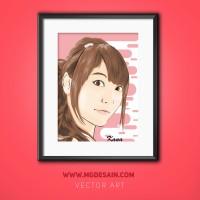 Ubah Foto Jadi Kartun Vector Untuk Hadiah/pajangan/souvenir