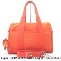 Harga fashion kekinian tas wanita kipling super 1251 weekender bag | Pembandingharga.com