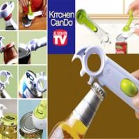 Jual BARU -    Pembuka Botol & Kaleng 7 in 1 - Kitchen Can Do Murah