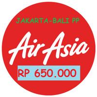 Tiket Promo Air Asia Jakarta - Bali Pulang Pergi