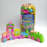 Mainan Lego Block Isi 168 pcs blok