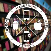 Stiker Custom Teks Toko Handphone Android Apple Stiker Dinding Kaca