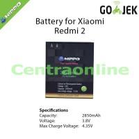 Hippo Baterai Xiaomi Redmi 2 BM44 2850 MAH Bagus Tahan Hp Android