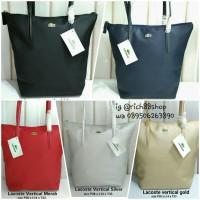 Tote Bag Lacoste No Furing Vertikal / Tas Wanita / Tas Import