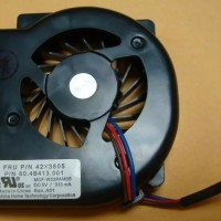 COOLING FAN KIPAS IBM LENOVO THINKPAD X60 X60S X61 X61S - 42X3805 BARU